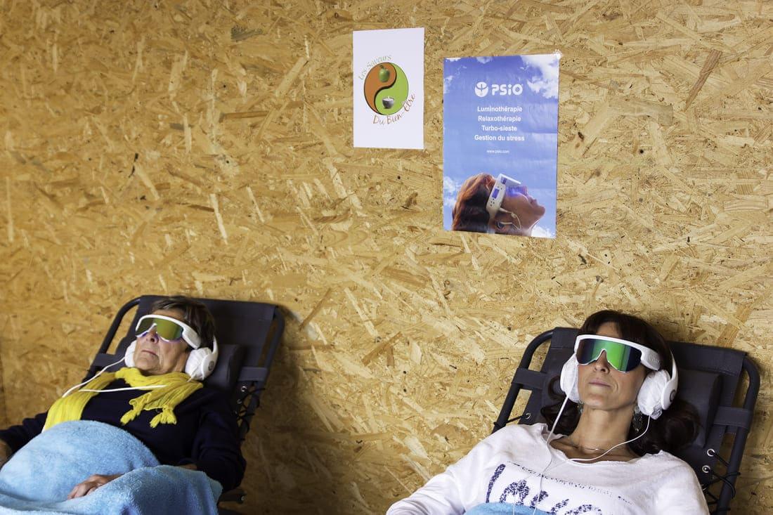 Image luminothérapie lunettes Psio
